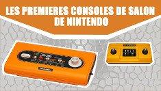 premières consoles de nintendo