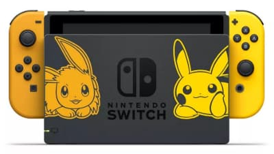 nintendo switch édition collector pokemon lets go