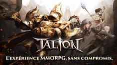 talion mmorpg préinscription
