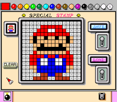 mario paint super nintendo