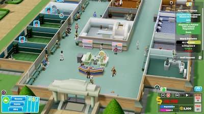 jeu ps4 two point hospital