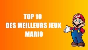top 10 jeux mario